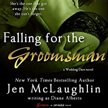 Falling for the Groomsman (       UNABRIDGED) by Diane Alberts Narrated by Krista Lally