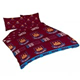 Official West Ham United FC Double Duvet Set