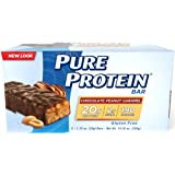Pure Protein  Revolution High Protein Triple Layer Bar, Chocolate Peanut Caramel 2.75-Ounce Bar, 12-Count ~ Pure Protein