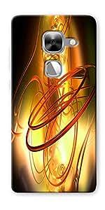 DigiPrints Designer Back Cover for LeEco Le Max2-Multicolor