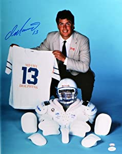 Signed Dan Marino Miami Dolphins Photo - 16x20 Witness - JSA Certified - Autographed... by Sports Memorabilia