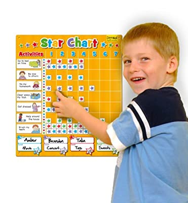 Magnetic Star Chart / Reward Chart ( Large)