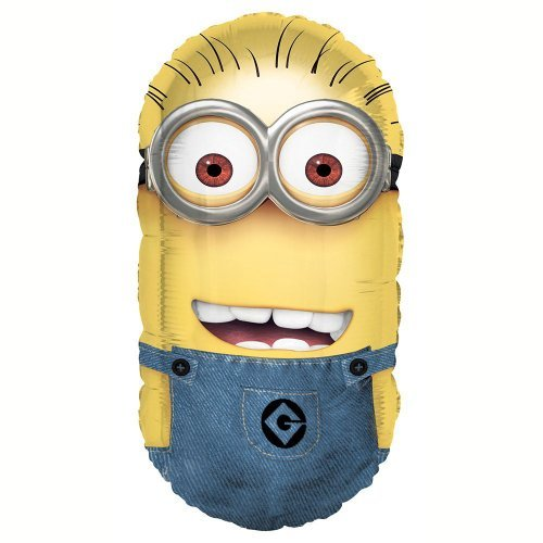 "Despicable Me 2 Minion 26"" Foil Balloon - Pack of 2"