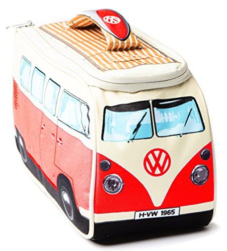 VW Volkswagen T1 Camper Van Lunch Bag - Red - Multiple Color Options Available (Volkswagen T1 Camper Van compare prices)