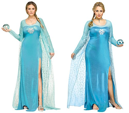 Ice Queen - Frozen Adult Costume Size:Plus 16-20
