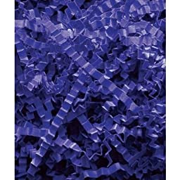 Deluxe Small Business Sales 431-10-2 10 lbs. Crinkle Cut Fill, Royal Blue