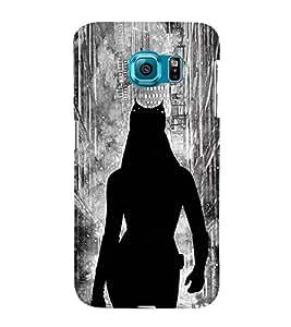 EPICCASE Symbol case Mobile Back Case Cover For Samsung Galaxy S6 Edge (Designer Case)
