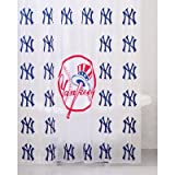 MLB PVC Shower Curtain MLB Team: New York Yankees