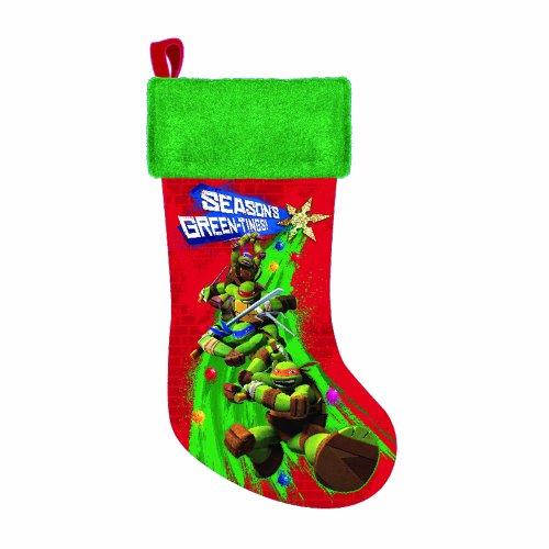 Teenage Mutant Ninja Turtles Printed Stocking, 19-Inch (Ninja Turtle Stocking compare prices)