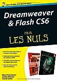 echange, troc Gurdy LEETE, Ellen FINKELSTEIN, Janine WARNER - Dreamweaver et Flash CS6 Megapoche Pour les nuls