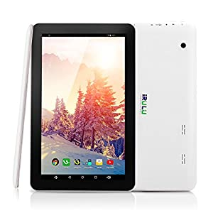iRULU eXpro 1Plus 10.1 Inch Tablet PC, Android 5.1 Lollipop, Quad Core, 16GB Nand Flash, 1024*600 HD Resolution - Black Front by iRULU