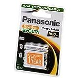 Panasonic rechargeable battery Evolta P03I AAA 900 mAh NiMH 4er- - Blister, Mikro, P-03E/4BC800