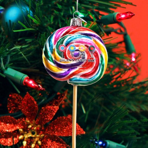 Dylan's Candy Bar Whirly Pop Ornament