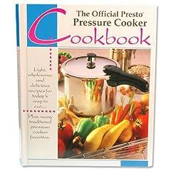 PRESTO COOKBOOK FOR PRESTO PRESSURE COOKER