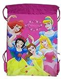 Dark Pink Disney Princess Drawstring Bag - Disney Princess Drawstring Backpack