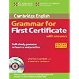 "Cambridge Grammar for First Certificate with answers + CD (Cambridge Books for Cambridge Exams)von ""Louise Hashemi"""