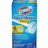 Clorox Disinfecting Toilet Wand Refill Heads 6 ea