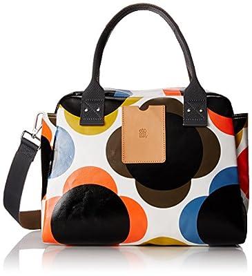 Orla Kiely Flower Spot Tarpaulin Zip Handbag