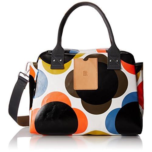 Orla Kiely Women's Giant Flower Spot Zip Bowling Bag