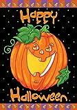 Toland Home Garden Happy Halloween 12.5 x 18-Inch Decorative USA-Produced Garden Flag