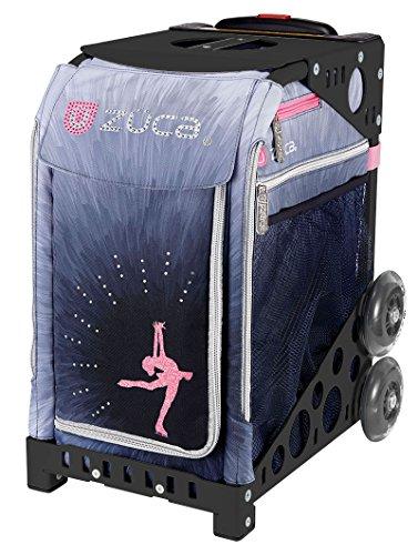 ZUCA-Bag-Ice-Dreamz-LUX-Insert-Black-Frame-w-Flashing-Wheels