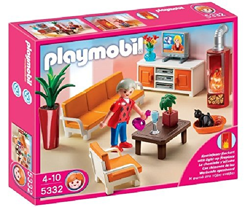 PLAYMOBIL New Puppenhaus Wohnzimmer 5332Miniatur