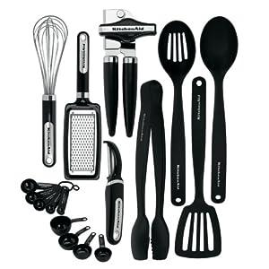Kitchenaid Classic 17-piece Tools and Gadget Set - Lesbian Kitchen Gift