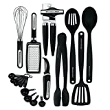Kitchenaid Classic 17-piece Tools and Gadget Set, Black – $38.99!