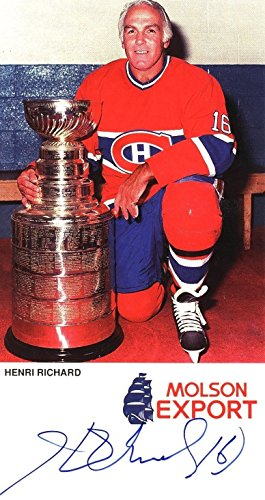 henri-richard-signed-auto-autograph-molson-export-4x8-card-sgc-canadiens