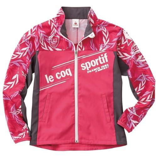 (ルコックスポルティフ)le coq sportif レディス ウィンドジャケット QB575233 RMG ローズマゼンタ M