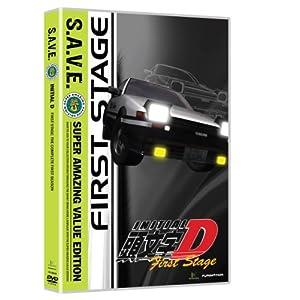 頭文字D(イニシャルD) 1st Stage(1期) コンプリートBOX 全26話[DVD] [Import]