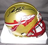 Deion Sanders Florida State Seminoles NCAA Hand Signed Mini Football Helmet at Amazon.com