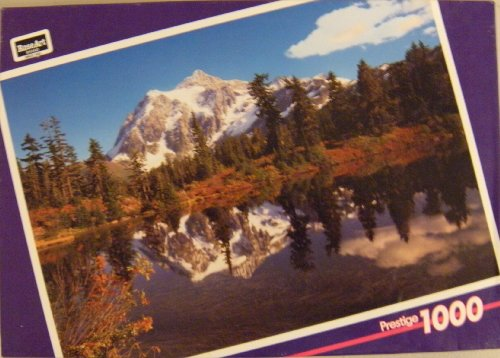RoseArt Prestige 1000 Pc Puzzle - Heather Lake, WA