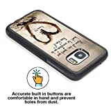 S7 Case Samsung Galaxy S7 Black Cover TPU Rubber Gel - Christian Quote Above all Else,Guard Your Heart,For Everything You do Flows From it.Proverbs 4:23