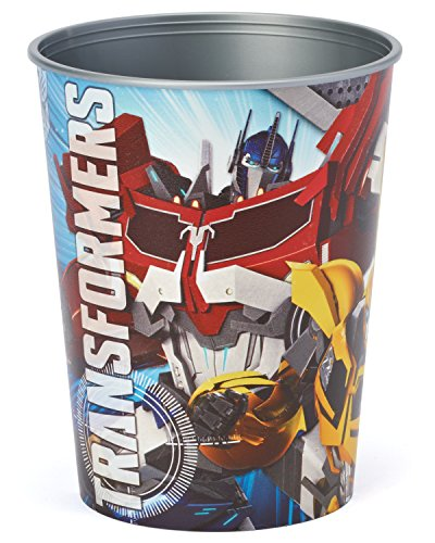 American Greetings Transformers Plastic Party Cup, 16 oz