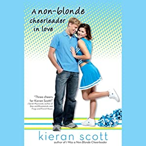 A Non-Blonde Cheerleader in Love Audiobook