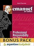 Emanuel Law Outlines: Professional Responsibility (Print + eBook Bonus Pack)
