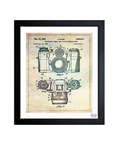 "Oliver Gal ""Sauer Camera, 1962"" Framed Art"