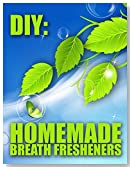 DIY: Homemade Mouth Fresheners (Bad Breath Remedies Book 1)