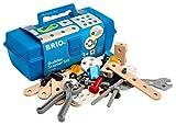 BRIO 34586 - Builder Box 48-teilig, Bau...