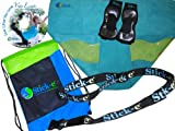 Stick-e Black Yoga Anywhere Bundle (Blue, Small)