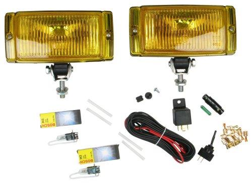 Bosch 0305406902 Pilot 150 Yellow Lens Fog Light Kiton Pilot Auxiliary Light Switch
