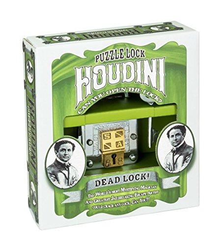 Professor Puzzle Houdini Puzzle Locks Dead Lock - 1