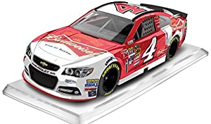 Lionel Racing CX45865BDKH Kevin Harvick #4 Budweiser 2015 Chevy SS 1:64 Scale ARC HT Official NASCAR Diecast Car