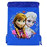 Officially Licensed Disney Drawstring Bag - Anna and Elsa