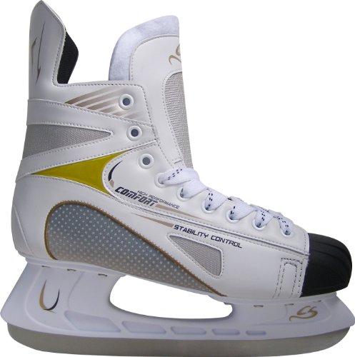 """Cox Swain Icehockey Schlittschuhe """"CENTER"""" Semi Soft Schuh mit Top Passform"""