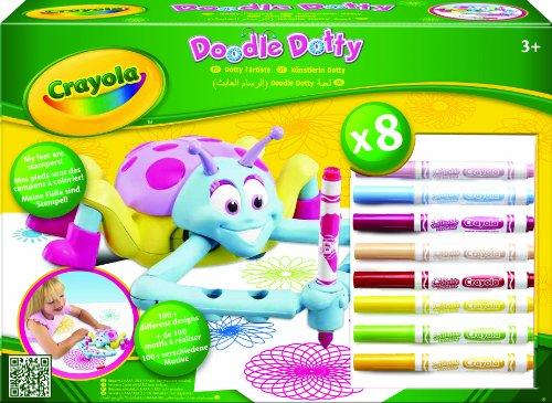 Crayola - Doodle Dotty, mándala, multicolor (10663)
