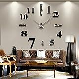 Vktech手作り DIY 壁時計 ウォールクロック  ウォールステッカー  時計を壁面に自由自在に設置できます 部屋装飾 模様替えに  簡単 おしゃれ!