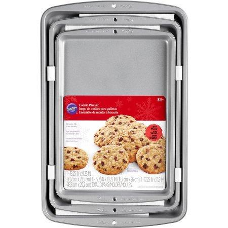 Recipe Right Cookie Pan Set, 3 ct. 2105-975 (Wilton Recipe Right 3 Piece compare prices)