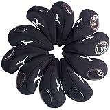 mizuno golf Iron Covers 10pcs/set black new model